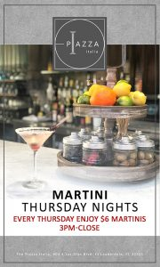 Martini Thursdays