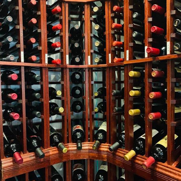 Piazza Italia: Our Wine-derful Cellar